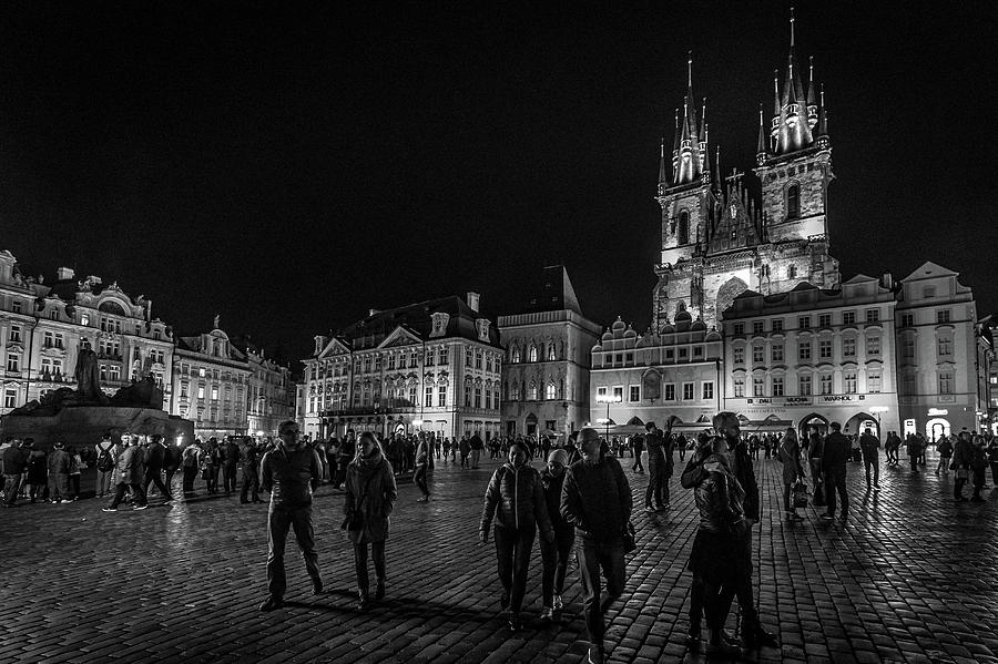 Old Town Square by Robert Davis