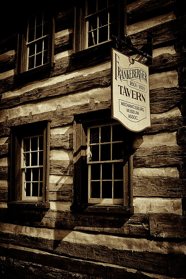 Tavern Photograph - Old Town Tavern by Paul W Faust - Impressions of Light