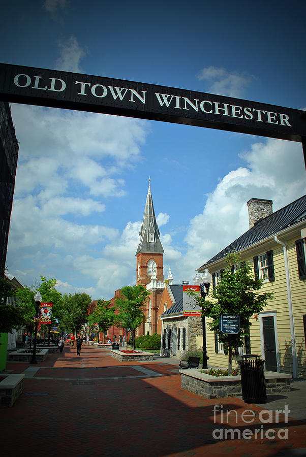 Winchester Photograph - Old Town Winchester by Jost Houk