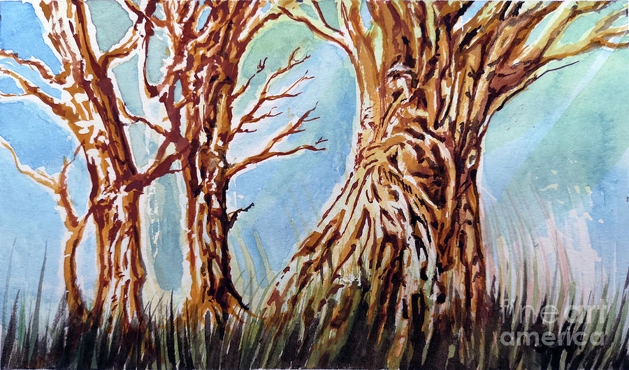 Old Trees by Armand Roy