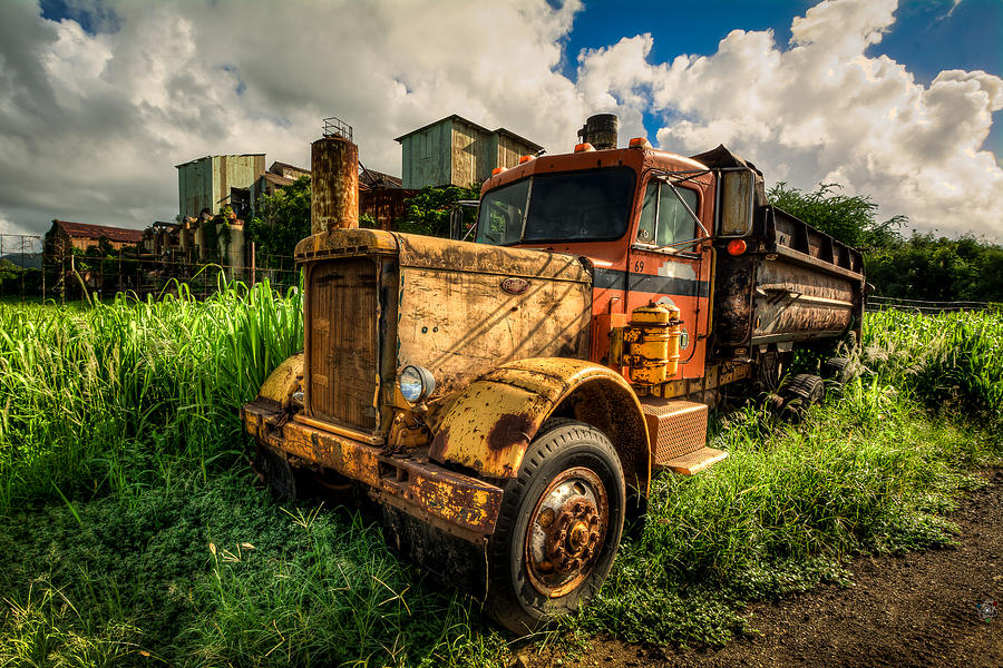 Truck Photograph - Old Truck by James Liddil