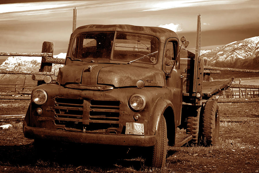 Old Truck Photograph - Old Truck by Norman Hall