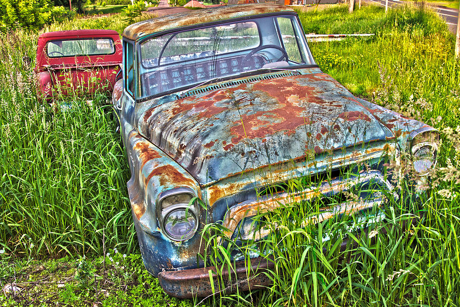 001 - Old Trucks by David Ralph Johnson