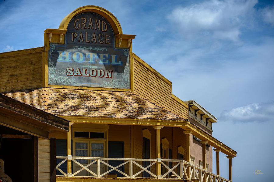 Old Tucson Photograph - Old Tucson Saloon by Pat Scanlon