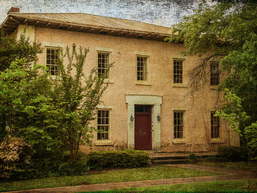 Jail Photograph - Old Tuscaloosa Jail by Phillip Burrow