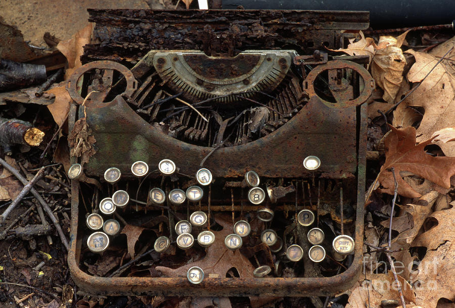 Old Typewriter by Ohio Stock Photography