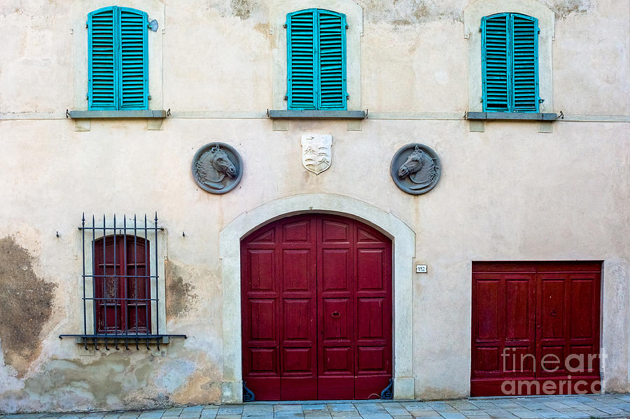 Old Villa Stables by Prints of Italy