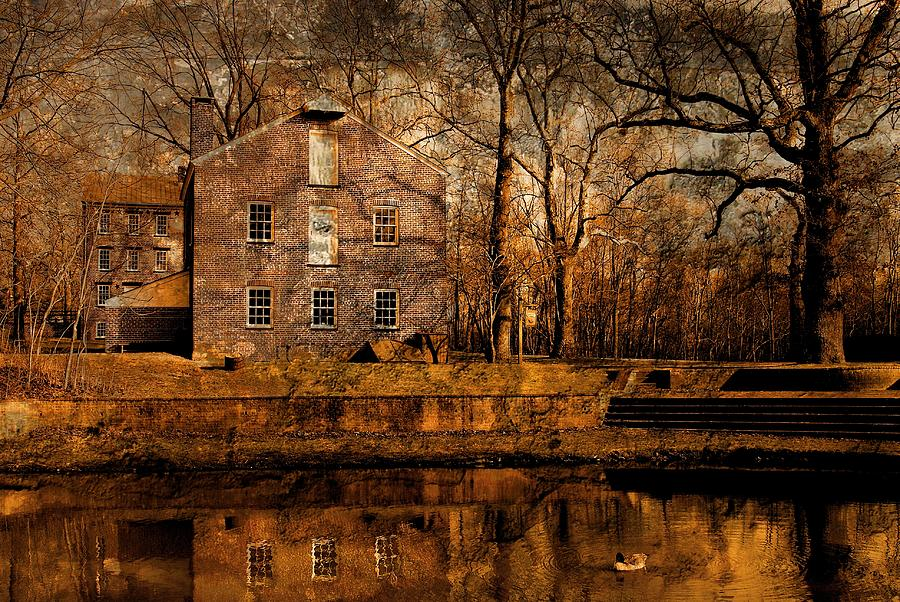 Old Village - Allaire State Park Photograph