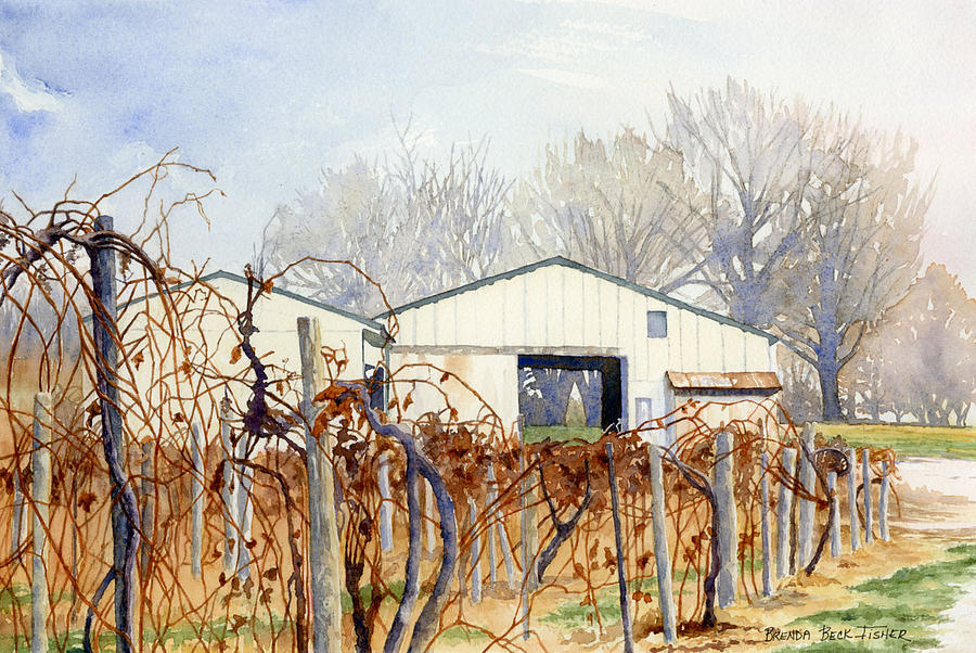 Old Vines by Brenda Beck Fisher