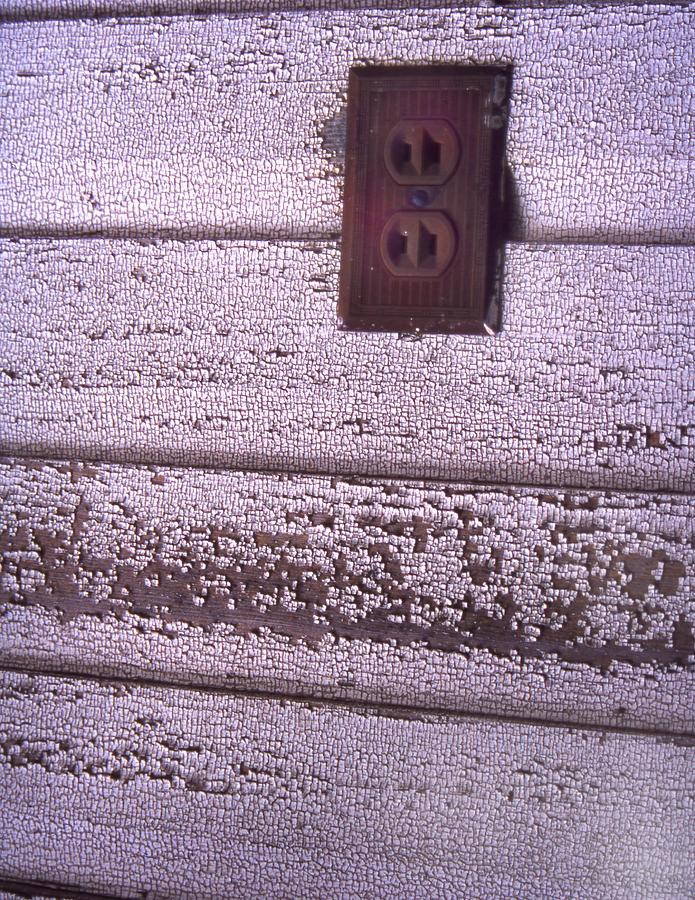 Old Wall Outlet Photograph by Curtis J Neeley Jr