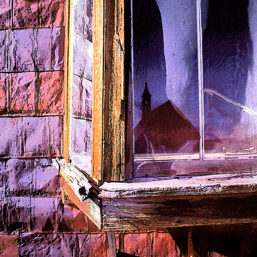 Architecture Photograph - old West 2 by Dean Uhlinger