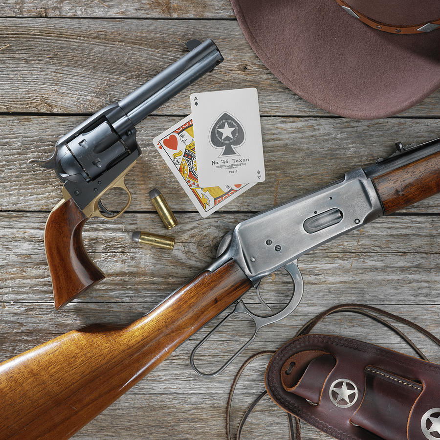 Cowboy Photograph - Old West Weapons by Jerry McElroy