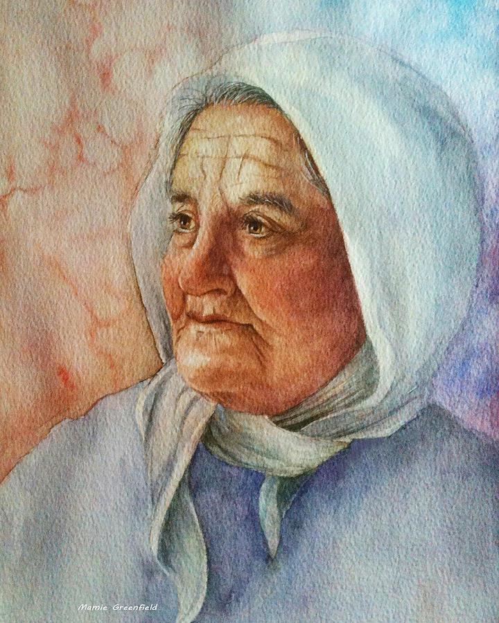 Αποτέλεσμα εικόνας για old woman painting