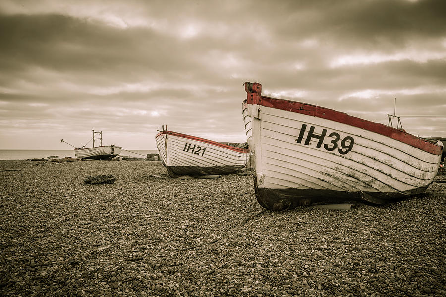 Old Wooden Boats by Roy Pedersen