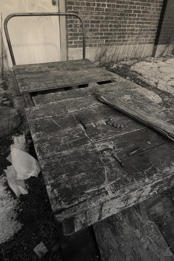 Wooden Cart Photograph - Old Wooden Cart by Sven Brogren