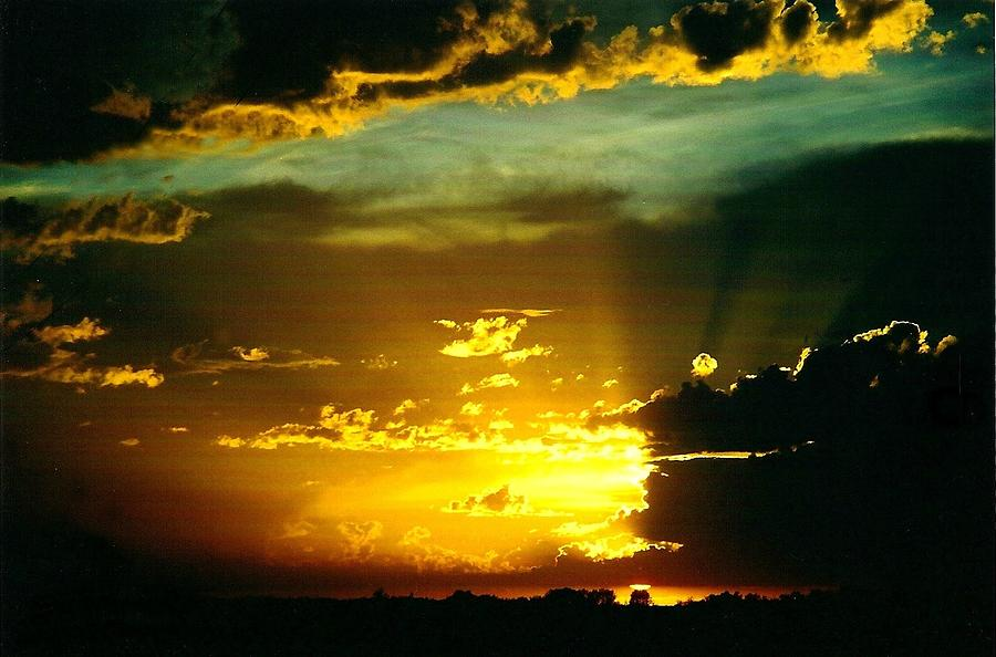 Scenery Photograph - Old World Sunset by Shirley Sirois