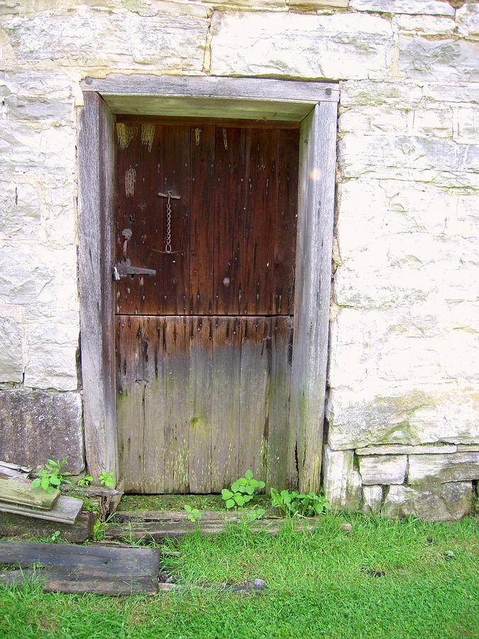 Mills Photograph - Old Yingling Flour Mill Door by Don Struke