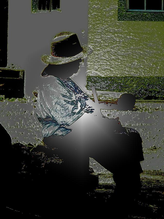Olden Light Mixed Media by Robert aka Bobby Ray Howle