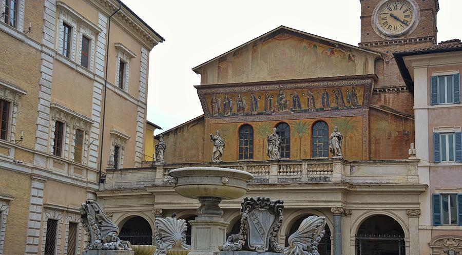 Italy Photograph - Oldest Fountain by JAMART Photography