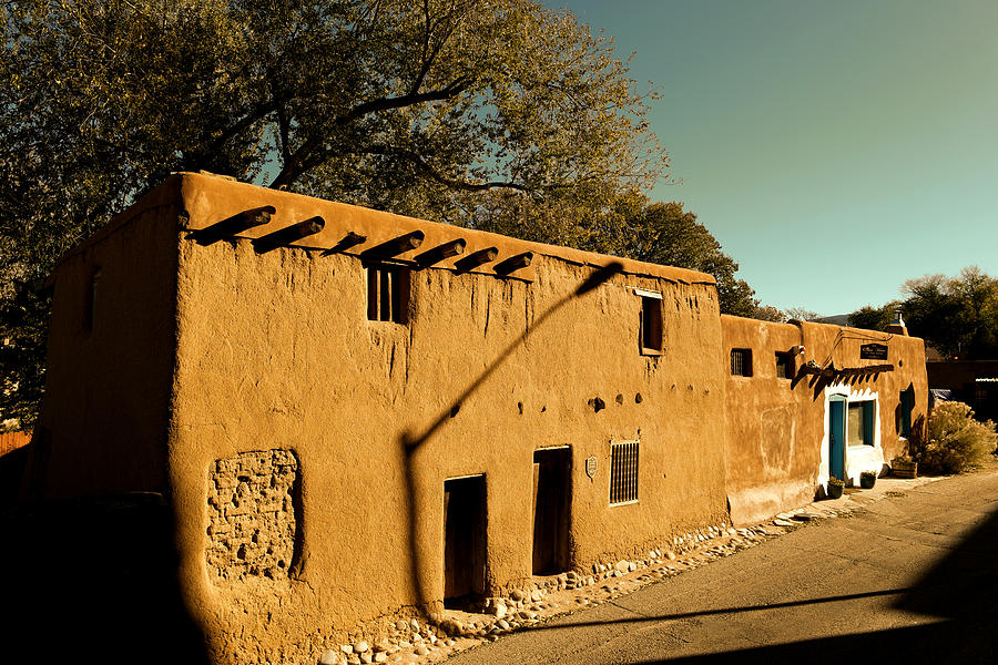 House Photograph - Oldest House In Santa Fe by Jeff Swan