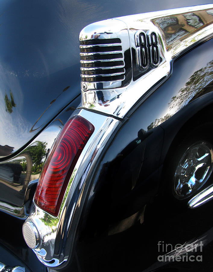 Oldsmobile 88 Photograph - Olds 88 Tailend by Peter Piatt