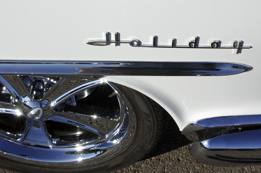 Oldsmobile Holiday Photograph - Oldsmobile Holiday Emblem by Jill Reger