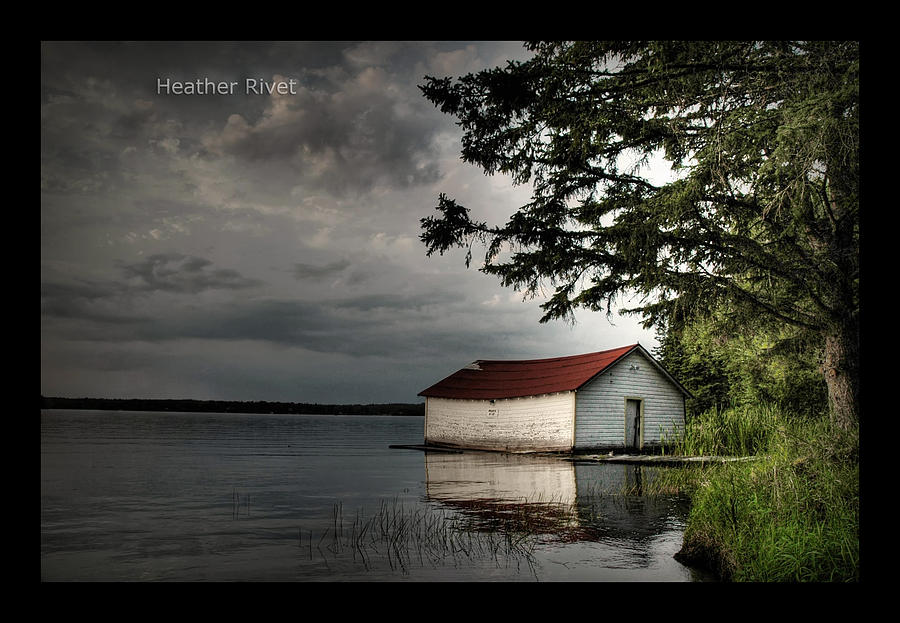 Ole Boat House Photograph by Heather  Rivet