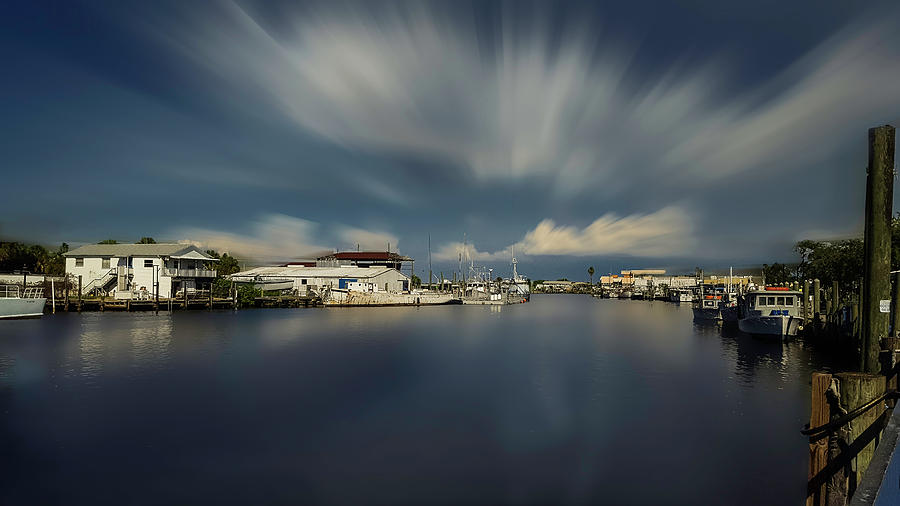 Beauty In Nature Photograph - Ole Fishing Town by Todd Rogers