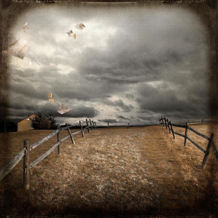 Wind Photograph - Olga by Inesa Kayuta