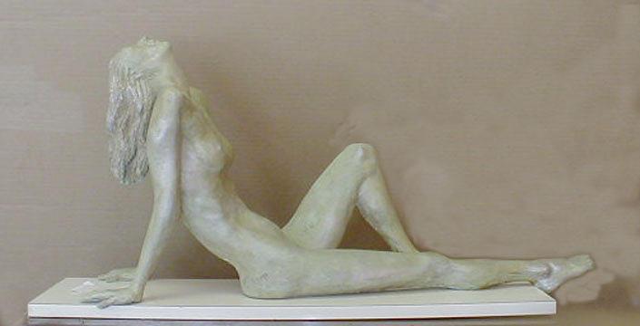 Olguita Sculpture by Ramon Lago
