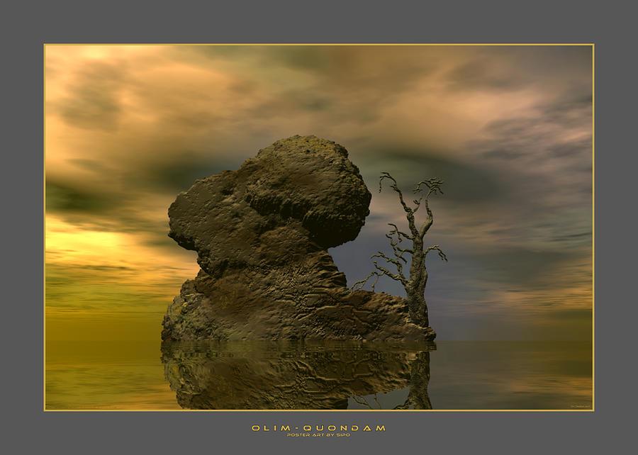 Olim - Quondam - Surrealism Digital Art