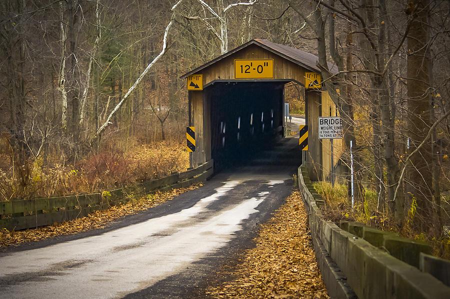 Olins Rd Covered Bridge Photograph