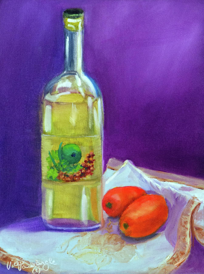 Olive Oil and Tomatoes by Vicki VanDeBerghe