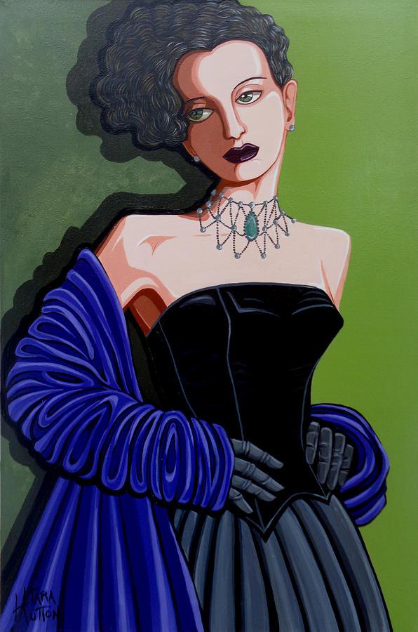 Portrait Painting - Olivia by Tara Hutton