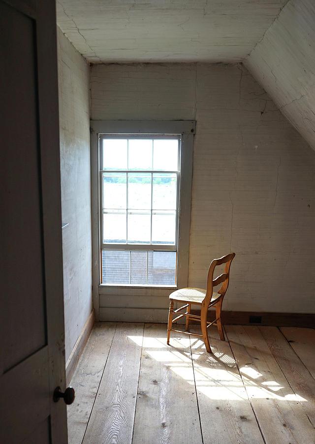 Olson House Chair and Window by Paul Gaj