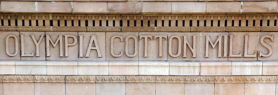 Olympia Cotton Mills Photograph