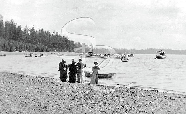 OLYMPIA COUNTRY CLUB BUTLER COVE 1905-10 by Joe Jeffers