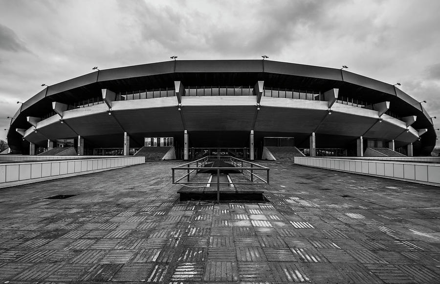 Olympic Photograph - Olympic cycle track by Konstantin Bibikov