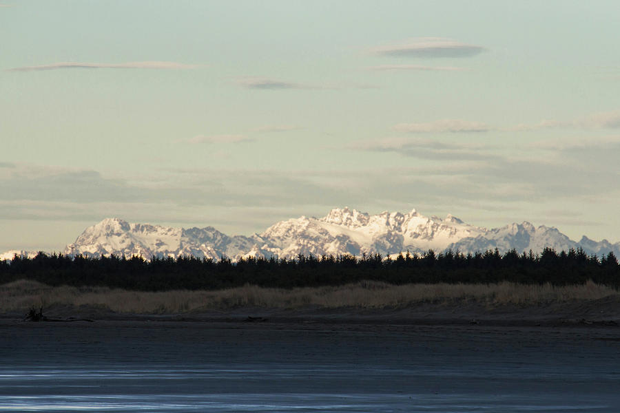 Olympic Mountains Photograph - Olympic Mountains by Cheryl Day