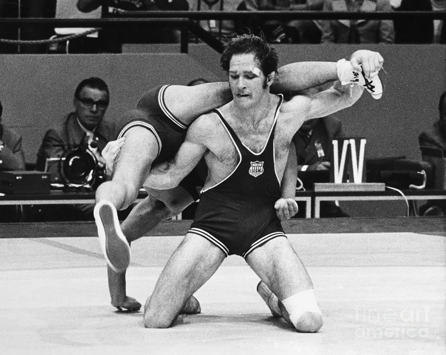 Amateur wrestling photographs