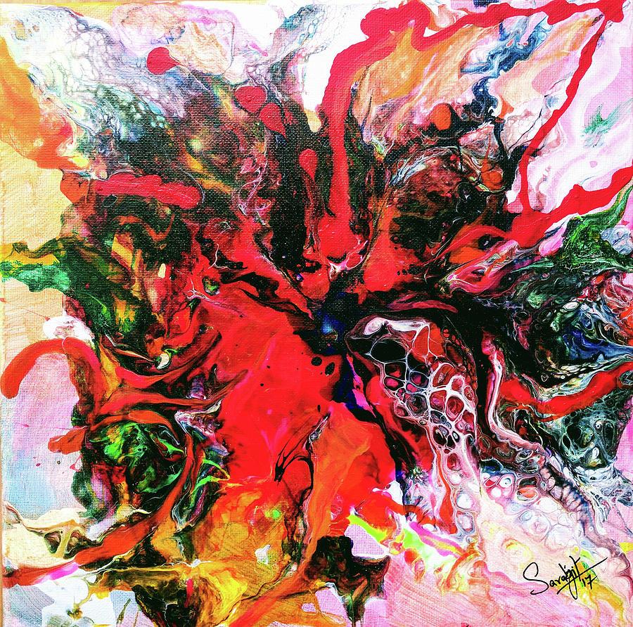 om flower by Sarabjit Singh