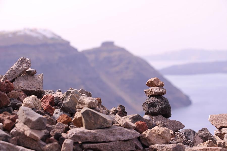 Hike Photograph - Om by Stuart Smith