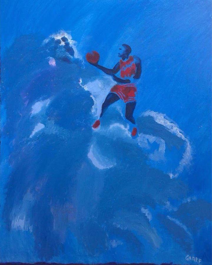 Michael Jordan Painting - Omaggio A Michael Jordan by Enrico Garff