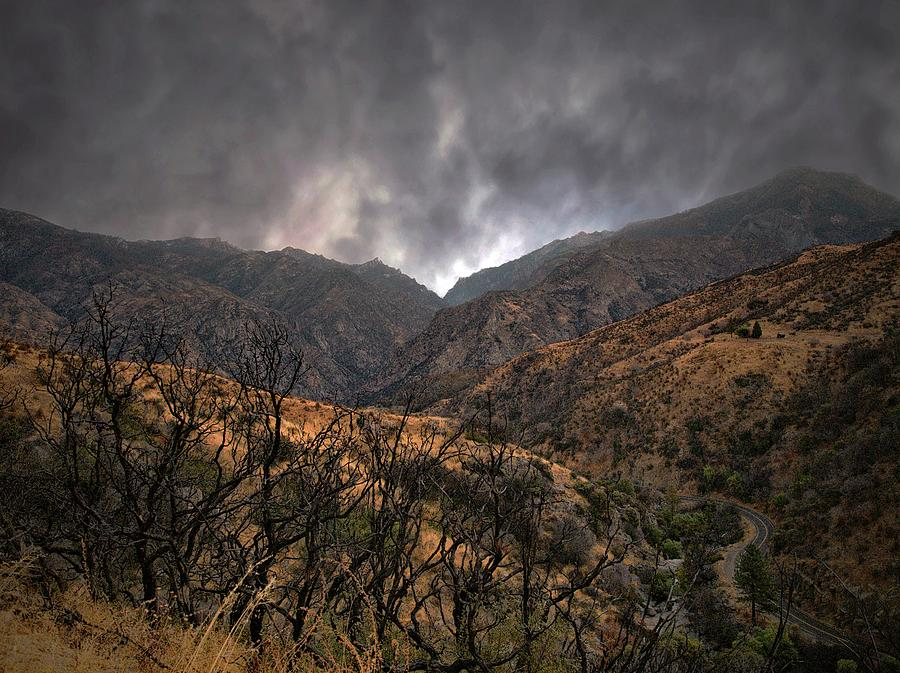 Yosemite National Park Photograph - Ominous Skies by Scott Fracasso