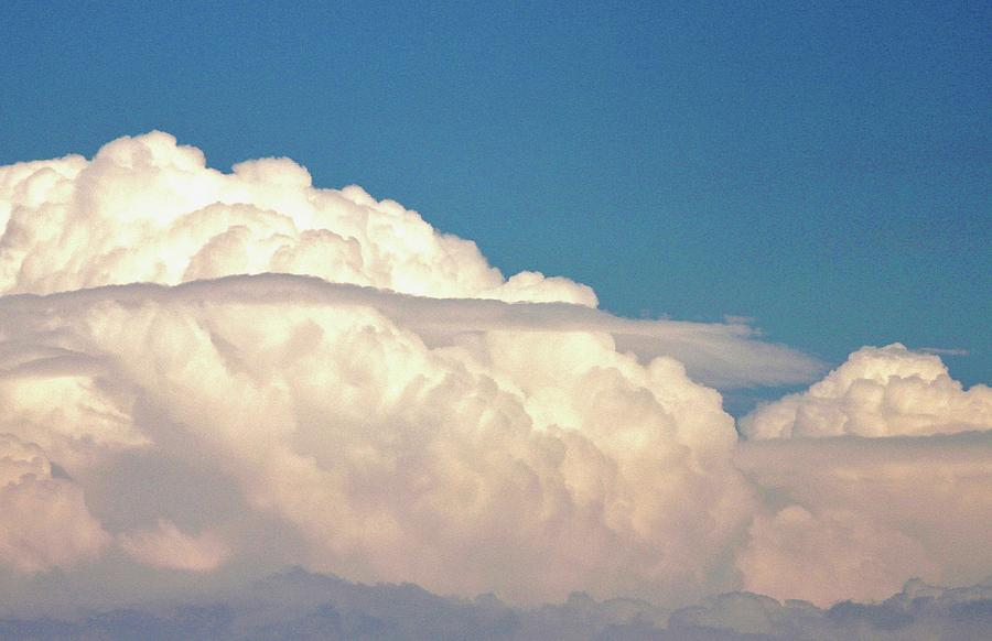 Thunderstorm Clouds Photograph - Ominous Thunderstorm by Rose Webber Hawke