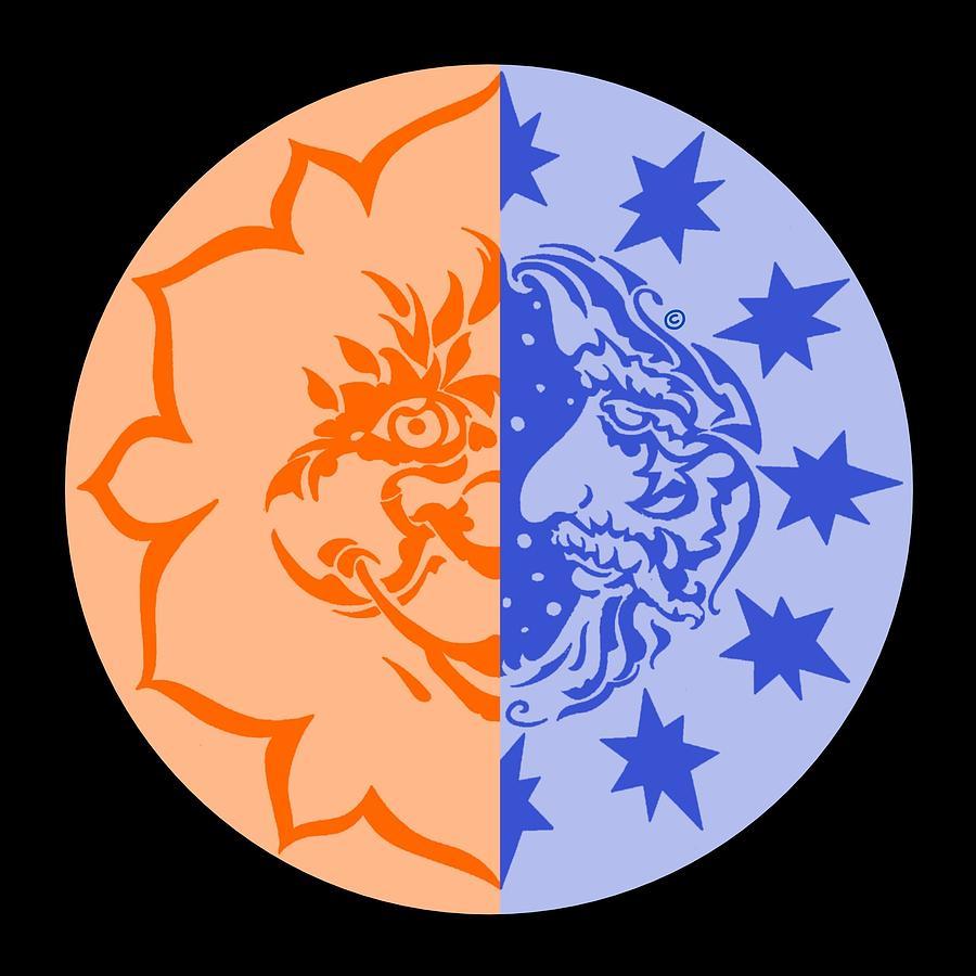 Eclipse Digital Art - Omniscire Eclipse Logo by Dawn Sperry