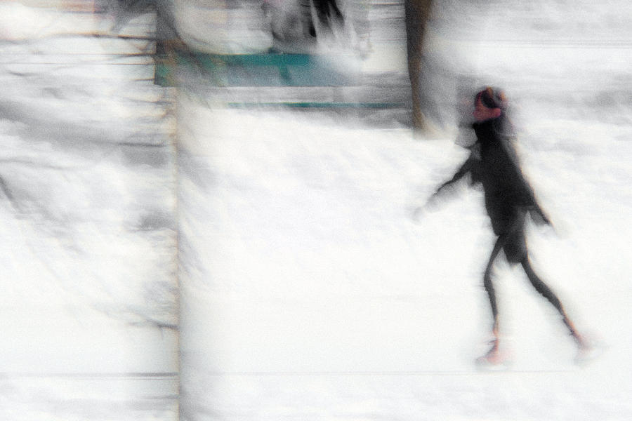 Winter Photograph - On A Frozen Pond by Denis Bouchard