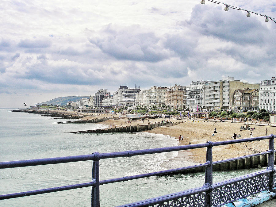 Brighton Photograph - On Brightons Palace Pier by Connie Handscomb