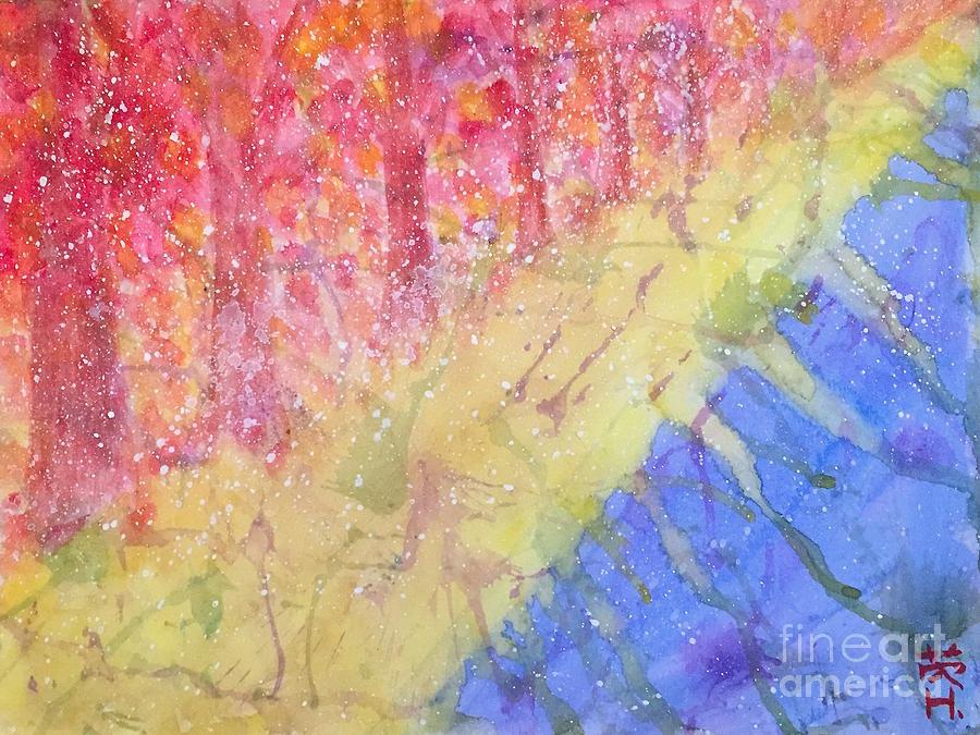 Season Painting - On Changing  by Wonju Hulse
