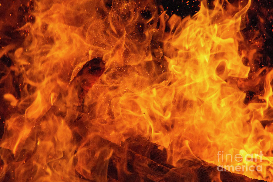 On Fire by Agnieszka Ledwon